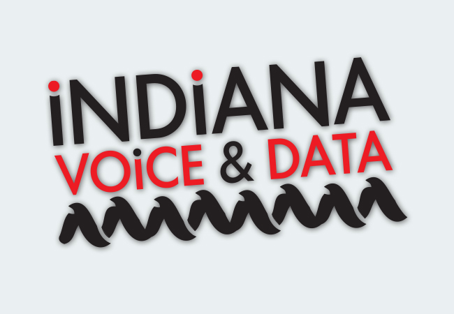 Indiana Voice and Data Logo