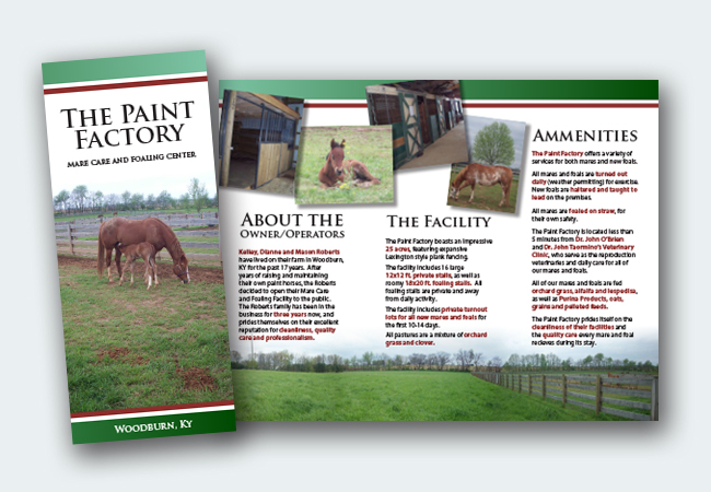Paint Factory Brochure
