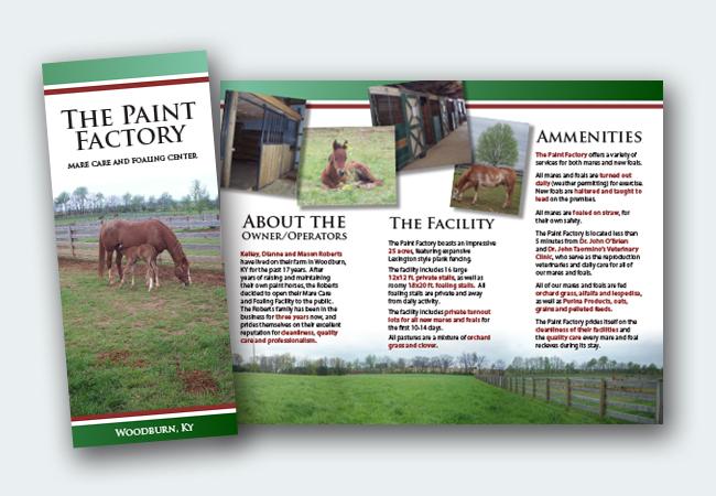 Paint Factory Brochure
