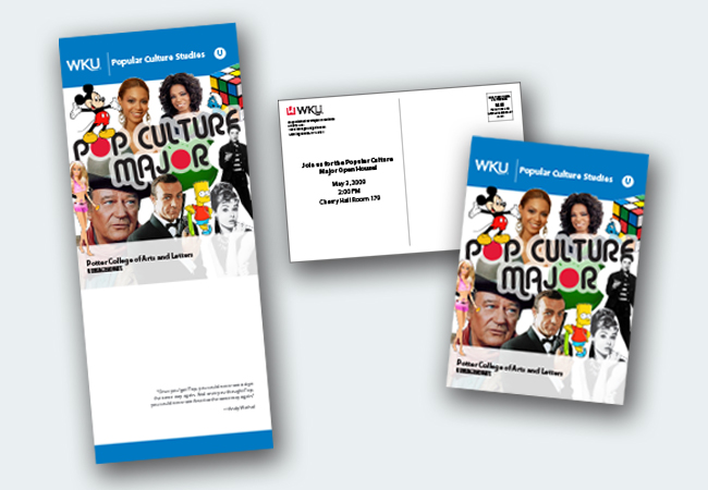 WKU Pop Culture Major Brochure