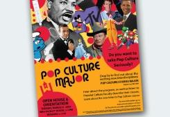 WKU's Pop Culture Major Poster