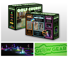 Package design for Golf Course in a Box by GlowGear
