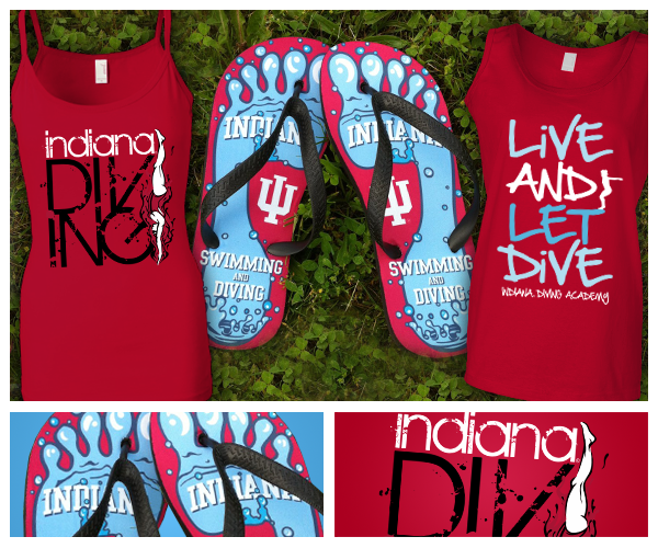 Indiana University Diving Team Apparel