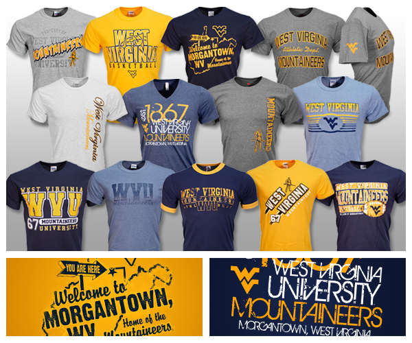 West Virginia University Apparel