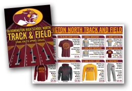 BHSN Track and Field Apparel Catalog